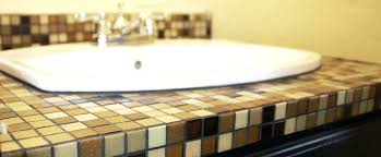 bathroom counter tile enthralling tile how to build counters at bathroom bathroom countertops home depot canada