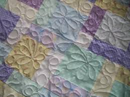 6 Free-Motion Quilting Designs Anyone Can Learn & Naomi's Baby Quilt Adamdwight.com