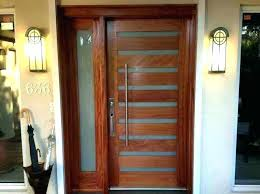 wooden front doors with glass modern exterior front doors with glass modern entry doors brilliant contemporary