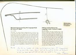 volvo p1800 documentation main page fitting instructions for luggage rack 2777154 1 jpg