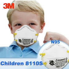 3m N95 Mask Size Chart Us 26 59 43 Off 20 Pcs Box 3m 8110s N95 Kids Children Dust Mask Anti Particles Anti Pm2 5 Particulate Respirator Masks Safety Small Size Masks In