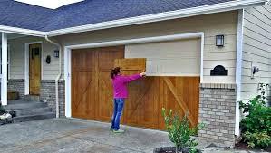 door paint color ideas garage door colors ideas update your with some simple wood panels paint