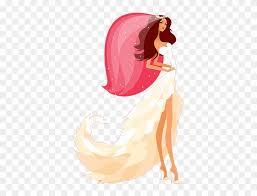 bridal hairstyles bridal makeup bride vector 428439