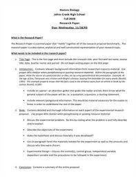 Apa Proposal Sample Under Fontanacountryinn Com