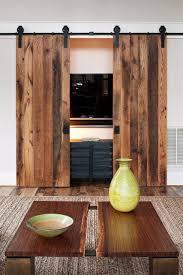 sliding barn door tv stand furniture june
