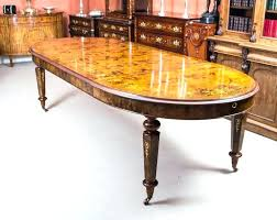 10 foot dining table stunning bespoke handmade burr walnut marquetry dining table foot chairs 6 l 10ft dining table plans