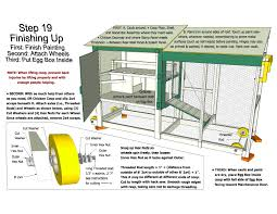 Happy Valley Hen House Building Guide  Chicken Coop Plans    Sample page of chicken tractor plans  Page from the easy to