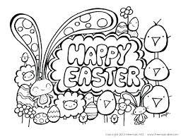 Simple Easter Coloring Pages Fiestasdeterrazaclub