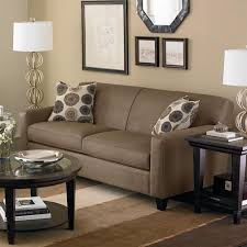couch bedroom sofa: full size of living room dark brown leather couches matched with artistic floral cuhions design and