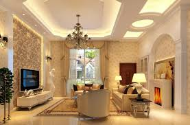 ... Engaging Home Interior Decoration With Various Wallpapers For Room :  Charming Modern Living Room Decoration Using ...