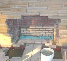 fireplace mortar repair fireplace repair fireplace mortar repair home depot