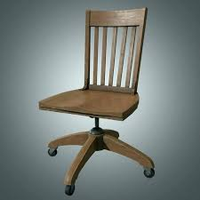 mission style swivel office chair wood swivel office chair oak desk mission style vintage antique natural