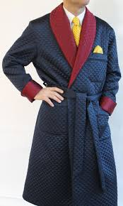 24 best Quilted dressing gowns images on Pinterest | Fashion ... & Wool classic dressing gowns for man Adamdwight.com