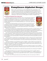 Trid Laws Mortgage Compliance Magazine January 2019 Page 54