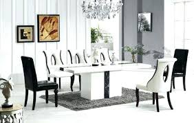 marble dining table and 6 chairs black with 4 round leathe gatsby oval marble dining table malaysia kitchen design images