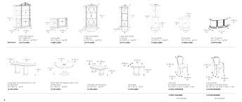 dining room table measurements. Typical Dining Room Table Dimensions Interior Top Good View Standard . Measurements