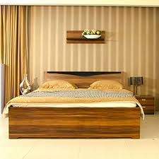 bed in a wooden box designs