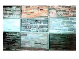 faux stone wall panels interior attached