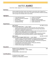 Resume Help For Teachers Resume Help For Teachers Best Teacher Resume Example Livecareer 2