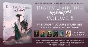pre order digital painting techniques volume 8 by 10th october and get an earlier volume of the series free