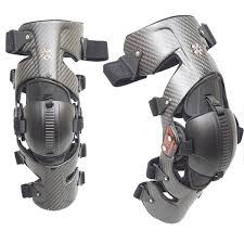 Asterisk Carbon Cell Knee Brace Pair Color Carbon Size L