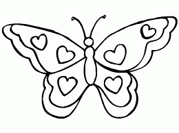 Free Coloring Book Pages Of Butterflies