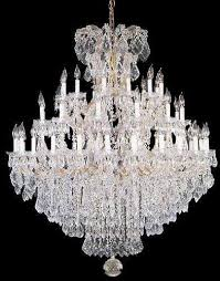 swarovski crystal lighting. Interesting Lighting Swarovski Crystal Trimmed Chandelier Chandeliers  Lighting Dressed 52X60  A83 Intended