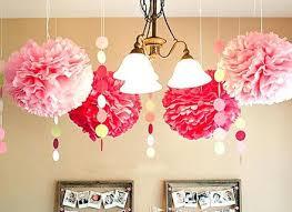 paper chandelier party decorations