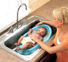 image of newborn bath tub design