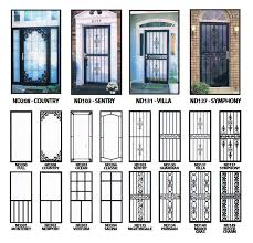 decorative security screen doors. Cool Metal Security Screen Doors With Iron Door Parts Storm Wrought Ornamental Decorative