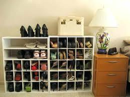 put your shoe collection closet shoe rack