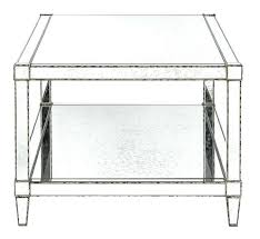 monarch coffee table glossy white with chrome metal p cocktail