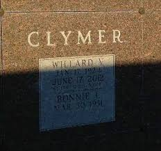 "Willard Vaughn ""Bill"" Clymer (1924-2012) - Find A Grave Memorial"