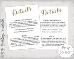 Wedding Enclosure Card Template Wedding Enclosure Cards Template Barca Fontanacountryinn Com