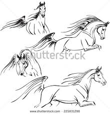 arabian horse head clipart.  Clipart Run Horse Run Free Vector Download Horsing Clipart Arabian  And Arabian Horse Head Clipart C
