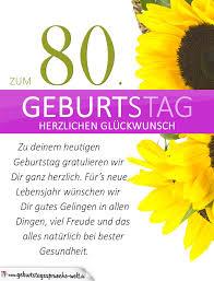 Lustige Geburtstagssprüche Eighty Geburtstag