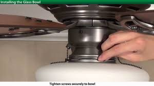 how to install a hunter low profile ceiling fan 5 series models you