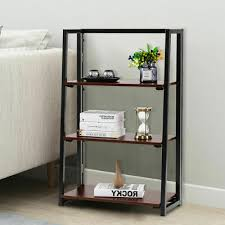 bookcases small multifunctional 3 tier