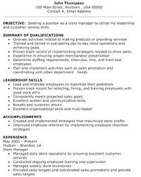 Retail Sales Manager Resume Awesome Resume Training New Employees