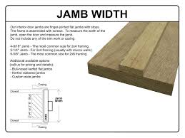 exterior door jamb dimensions. Interesting Door Outstanding Exterior Door Width Jamb In Throughout Dimensions F