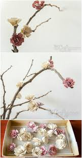 Paper Flower Branches Paper Flowers Blossom Branches Pictures Photos And Images For