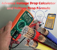 voltage drop calculator and voltage drop formula advance voltage drop calculator and voltage drop formula