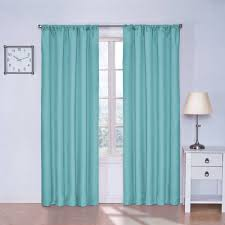nice decorative blue charming mint green curtains