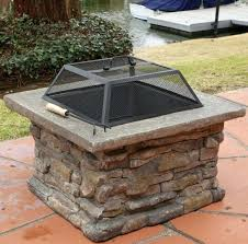 wood burning outdoor fire pits square outdoor fire pit square wood burning fire pit best good