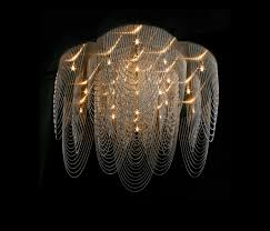 rose 700 ceiling mounted looped by willowlamp ceiling lights