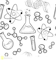 Science Coloring Pages Kids Stockware