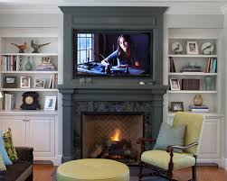 Small Picture TV Above Fireplace Houzz
