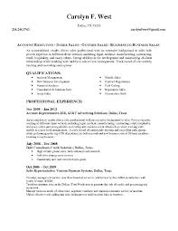 Sample Account Management Resume Resume Of Account Executive Sample
