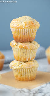 Better Than Costco Almond Poppy Seed Muffins Your Cup Of Cake