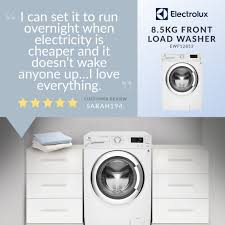 electrolux 8 5kg front loader. \u201cwe\u0027d all like our clothes to look fresh and clean every time we wash them, but also don\u0027t want have labour over it. the solution is new vapour electrolux 8 5kg front loader a